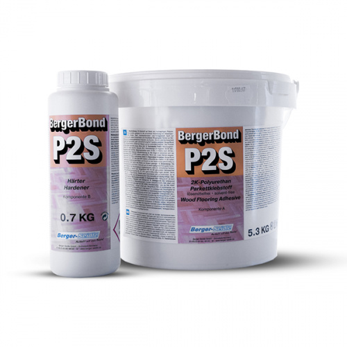 Двухкомпонентный полиуретановый клей «Berger Bond P2S»